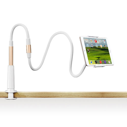Flexible Tablet Stand Mount Holder Universal T33 for Apple iPad 3 Gold