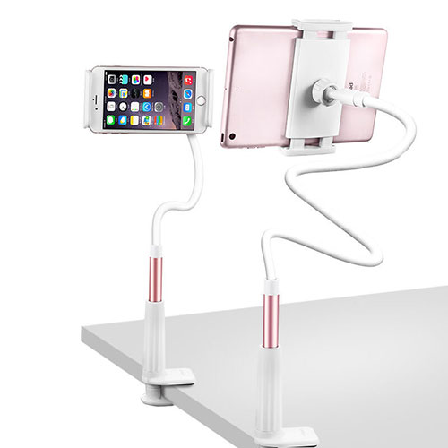Flexible Tablet Stand Mount Holder Universal T33 for Apple iPad 3 Rose Gold