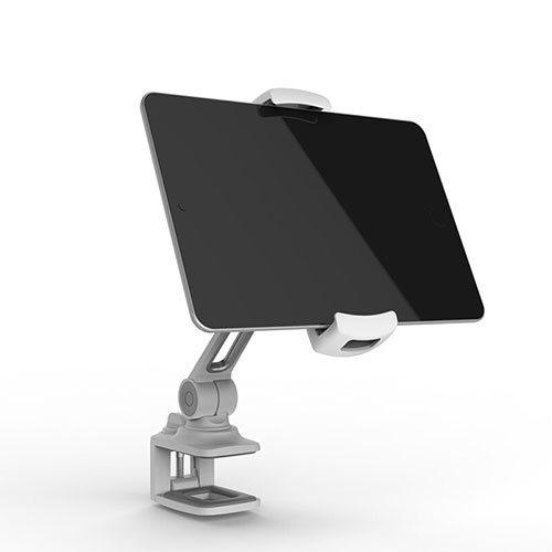 Flexible Tablet Stand Mount Holder Universal T45 for Apple iPad 3 Silver