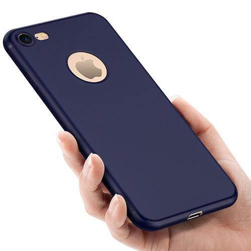 Hard Rigid Plastic Matte Finish Back Cover for Apple iPhone SE (2020) Blue