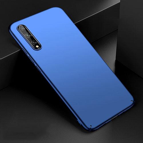Hard Rigid Plastic Matte Finish Case Back Cover M01 for Huawei Enjoy 10S Blue