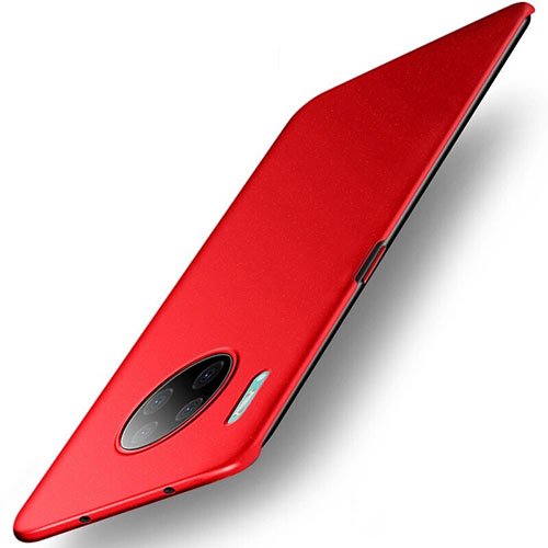 Hard Rigid Plastic Matte Finish Case Back Cover M01 for Huawei Mate 30 Pro 5G Red