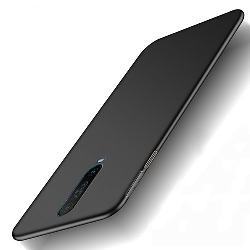 Hard Rigid Plastic Matte Finish Case Back Cover M01 for Xiaomi Redmi K30 5G Black
