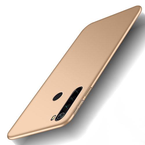 Hard Rigid Plastic Matte Finish Case Back Cover M02 for Xiaomi Redmi Note 8 Gold