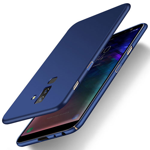 Hard Rigid Plastic Matte Finish Cover M04 for Samsung Galaxy A9 Star Lite Blue