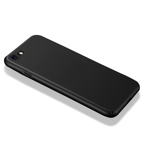 Hard Rigid Plastic Matte Finish Snap On Case M01 for Apple iPhone SE (2020) Black