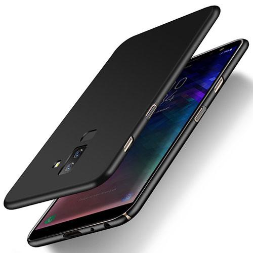 Hard Rigid Plastic Matte Finish Snap On Case M04 for Samsung Galaxy A9 Star Lite Black