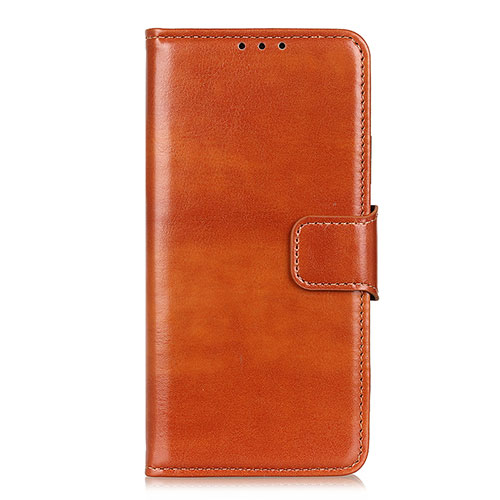 Leather Case Stands Flip Cover L04 Holder for Huawei Y8p Orange