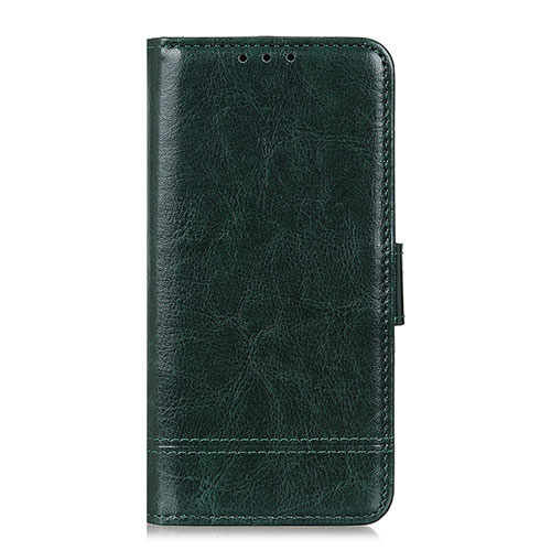 Leather Case Stands Flip Cover L09 Holder for Huawei Y8p Green