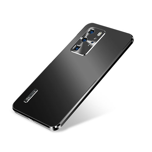 Luxury Aluminum Metal Cover Case A01 for Huawei P40 Pro Black