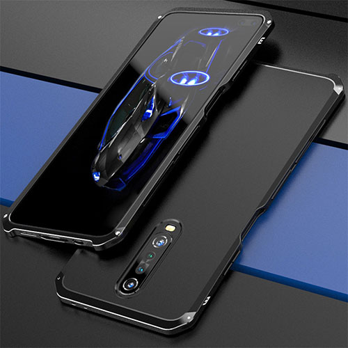 Luxury Aluminum Metal Cover Case for Xiaomi Redmi K30 5G Black