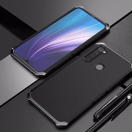 Luxury Aluminum Metal Cover Case for Xiaomi Redmi Note 8 Black