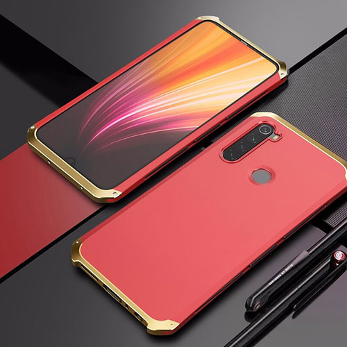 Luxury Aluminum Metal Cover Case for Xiaomi Redmi Note 8 Colorful