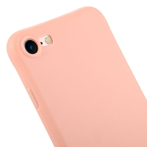 Silicone Candy Rubber Gel Soft Cover C01 for Apple iPhone SE (2020) Pink