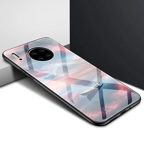 Silicone Frame Mirror Case Cover for Huawei Mate 30 Pro 5G Mixed