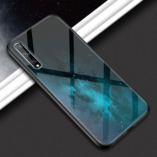 Silicone Frame Mirror Case Cover for Huawei Y8p Mixed