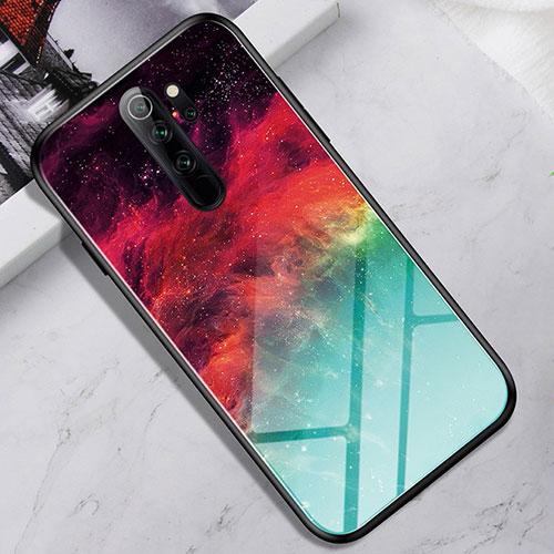 Silicone Frame Mirror Case Cover for Xiaomi Redmi Note 8 Pro Colorful