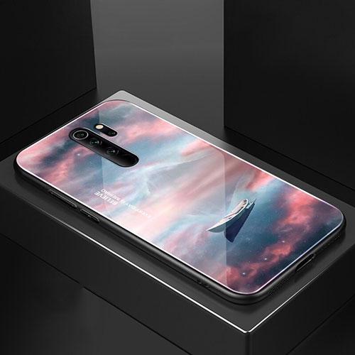 Silicone Frame Mirror Case Cover M02 for Xiaomi Redmi Note 8 Pro Mixed
