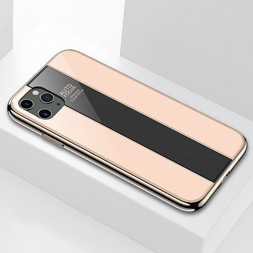 Silicone Frame Mirror Case Cover T01 for Apple iPhone 11 Pro Gold