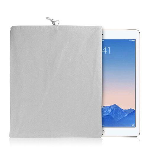 Sleeve Velvet Bag Case Pocket for Apple iPad 2 White