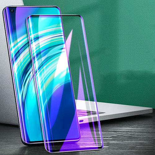 Ultra Clear Anti Blue Light Full Screen Protector Tempered Glass for Xiaomi Mi 10 Ultra Black