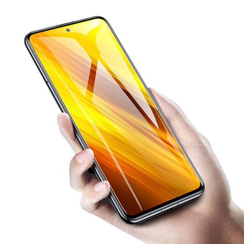 Ultra Clear Tempered Glass Screen Protector Film for Xiaomi Poco X3 NFC Clear