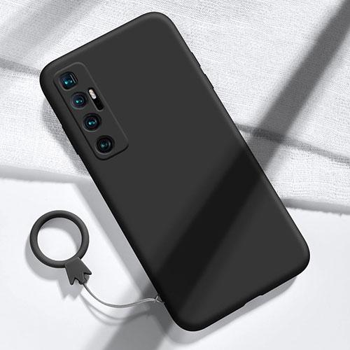 Ultra-thin Silicone Gel Soft Case 360 Degrees Cover for Xiaomi Mi 10 Ultra Black