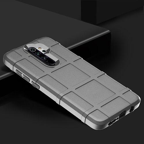 Ultra-thin Silicone Gel Soft Case 360 Degrees Cover for Xiaomi Redmi Note 8 Pro Silver