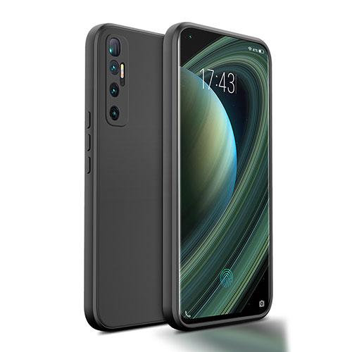 Ultra-thin Silicone Gel Soft Case 360 Degrees Cover S01 for Xiaomi Mi 10 Ultra Black