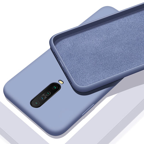 Ultra-thin Silicone Gel Soft Case 360 Degrees Cover S01 for Xiaomi Redmi K30 5G Gray