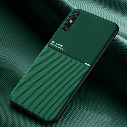 Ultra-thin Silicone Gel Soft Case 360 Degrees Cover S02 for Huawei Enjoy 10e Green