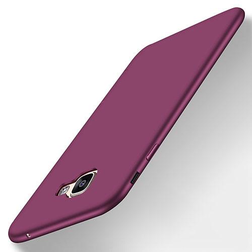 Ultra-thin Silicone Gel Soft Case S01 for Samsung Galaxy A8 (2016) A8100 A810F Purple