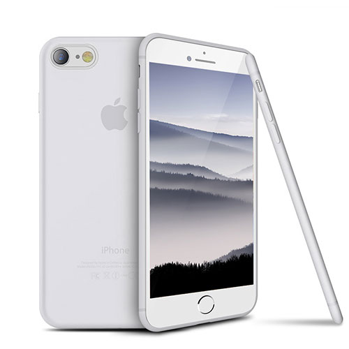 Ultra-thin Silicone Gel Soft Case S03 for Apple iPhone SE (2020) White