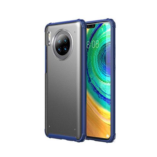 Ultra-thin Transparent Matte Finish Case U02 for Huawei Mate 30 Pro 5G Blue