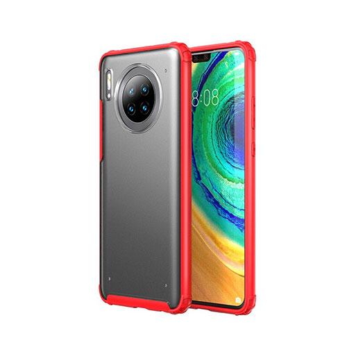 Ultra-thin Transparent Matte Finish Case U02 for Huawei Mate 30 Pro 5G Red
