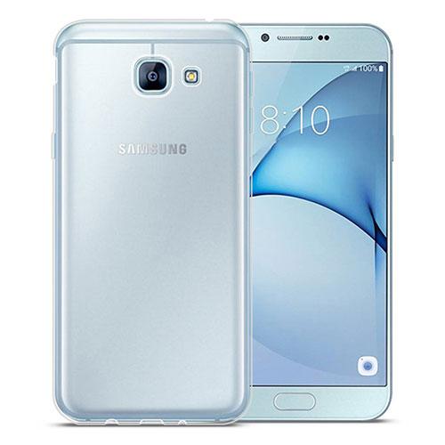 Ultra-thin Transparent TPU Soft Case Cover for Samsung Galaxy A8 (2016) A8100 A810F Clear