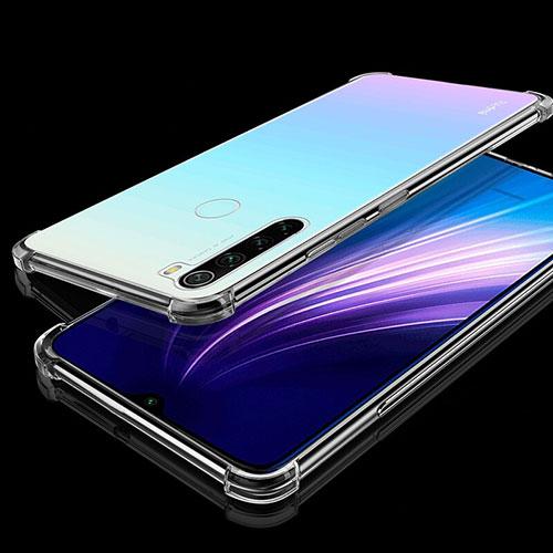 Ultra-thin Transparent TPU Soft Case Cover H01 for Xiaomi Redmi Note 8 Clear