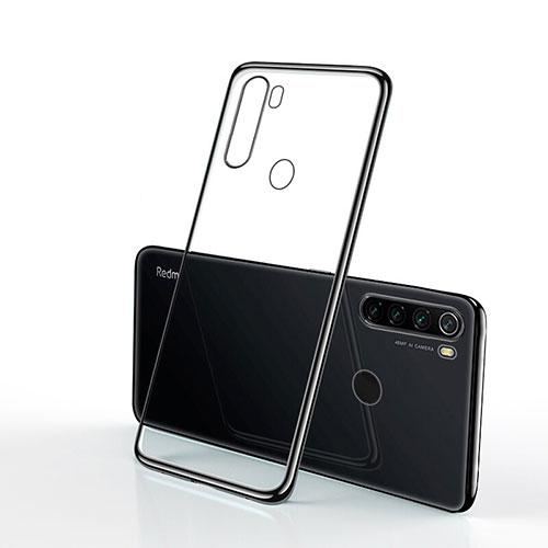 Ultra-thin Transparent TPU Soft Case Cover H02 for Xiaomi Redmi Note 8 Black