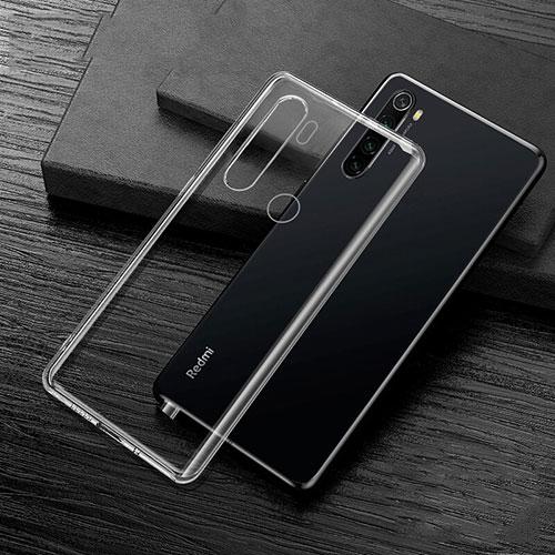 Ultra-thin Transparent TPU Soft Case Cover H02 for Xiaomi Redmi Note 8 Clear