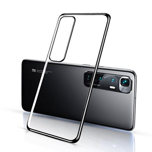 Ultra-thin Transparent TPU Soft Case Cover H03 for Xiaomi Mi 10 Ultra Black