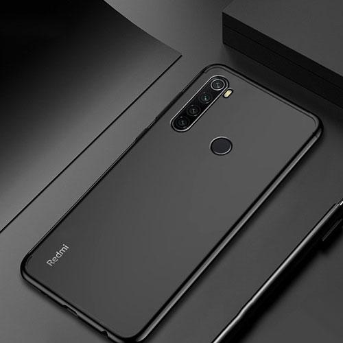 Ultra-thin Transparent TPU Soft Case Cover H04 for Xiaomi Redmi Note 8 Black