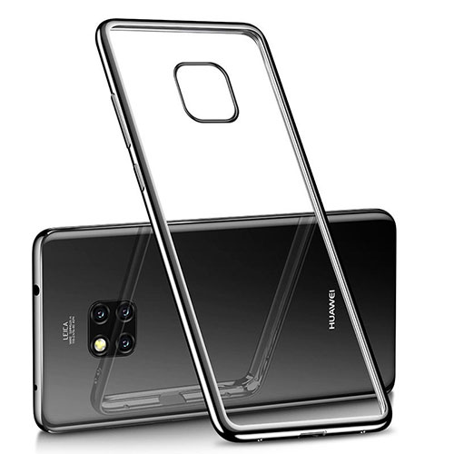 Ultra-thin Transparent TPU Soft Case H02 for Huawei Mate 20 Pro Black
