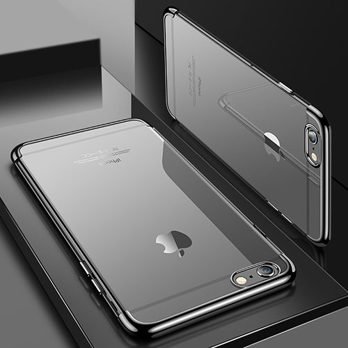 Ultra-thin Transparent TPU Soft Case H04 for Apple iPhone SE (2020) Gray