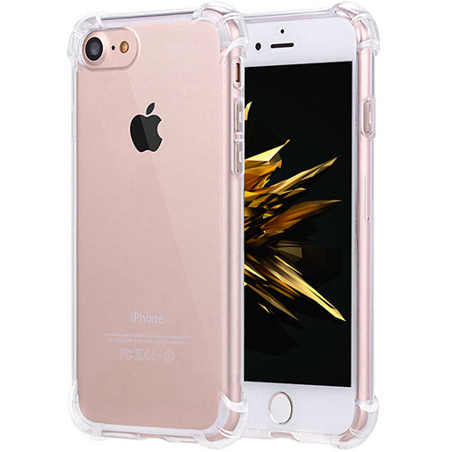 Ultra-thin Transparent TPU Soft Case H05 for Apple iPhone SE (2020) Clear