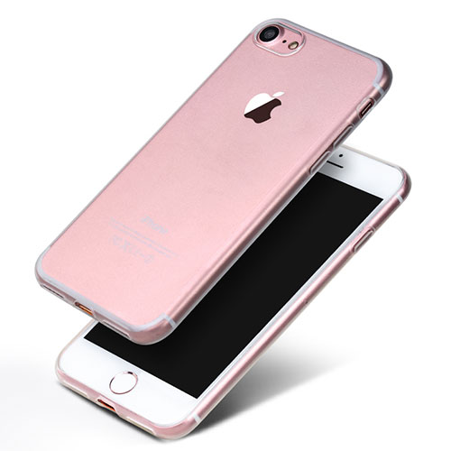 Ultra-thin Transparent TPU Soft Case H10 for Apple iPhone SE (2020) Clear