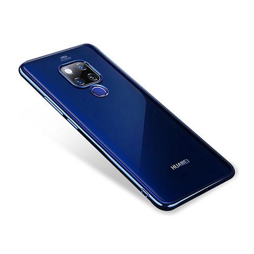 Ultra-thin Transparent TPU Soft Case T02 for Huawei Mate 20 Blue