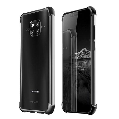 Ultra-thin Transparent TPU Soft Case U03 for Huawei Mate 20 Pro Black