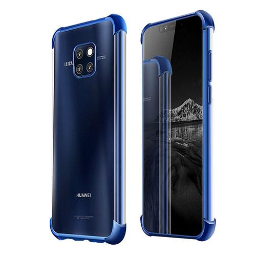 Ultra-thin Transparent TPU Soft Case U03 for Huawei Mate 20 Pro Blue