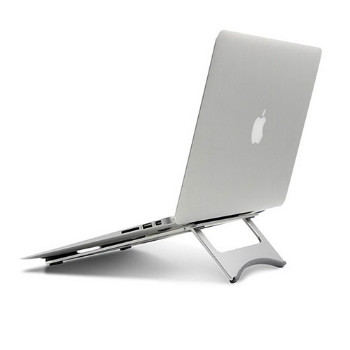 Universal Laptop Stand Notebook Holder for Apple MacBook Pro 13 inch Silver