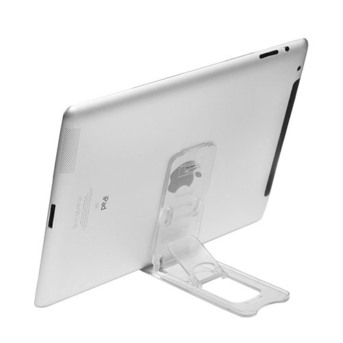 Universal Tablet Stand Mount Holder T22 for Apple iPad 4 Clear
